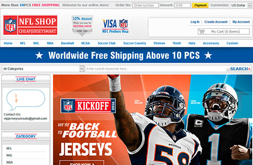 NFL Shop Cheap Jersey Store USA